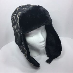 North Face Heli Hoser EarFlap Hat Winter OS Fur
